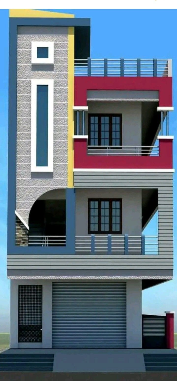 Pin On Small House Front Design | Stair Room Front Design | 3Rd Floor | Residential | 100 Sq Meter House | Hall | Small Space