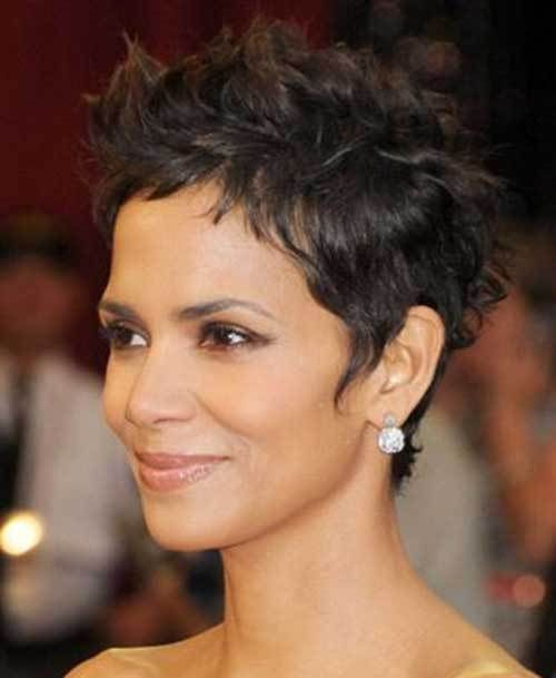 19 Halle Berry Pixie Cuts Hair Color Pinterest