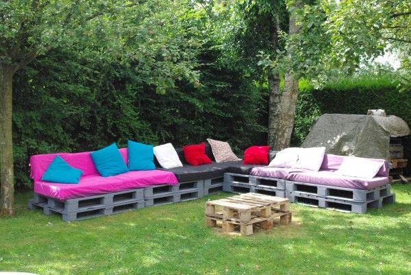 Salon De Jardin Une Invitation A La Paresse Pallet Garden Set