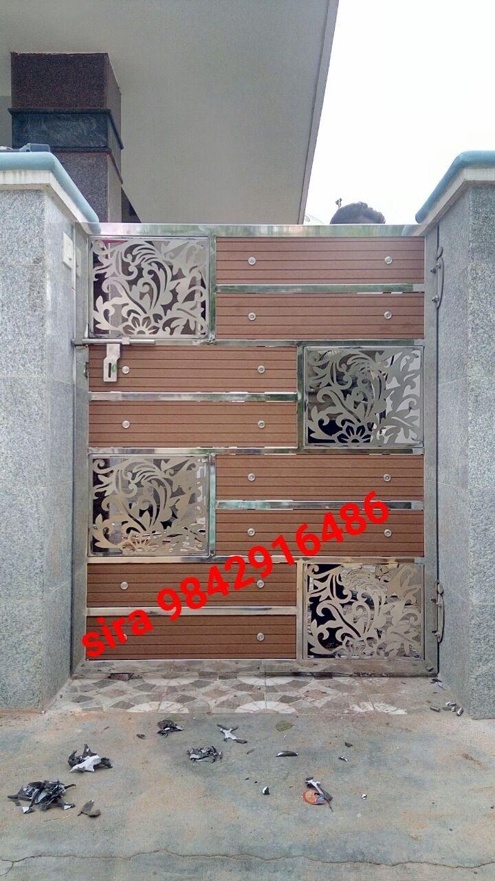 Pin By Sheik Bareeth On Sheik With Images Steel Gate Design Door Gate Design Gate Design