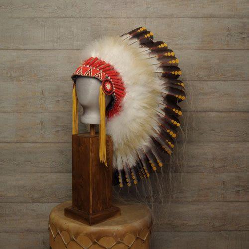 coiffe indienne navajo plumes d 39 oie cuir crin de cheval harpo paris d coration harpo. Black Bedroom Furniture Sets. Home Design Ideas