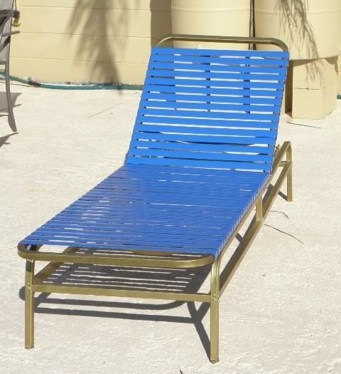 Replacement Straps For Patio Furniture: Vinyl Strap Replacement For Patio Furniture