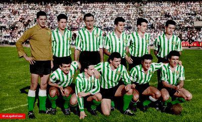 Real Betis Balompie Contra Sevilla 21 09 1958 Betis Balompie Equipo De Futbol