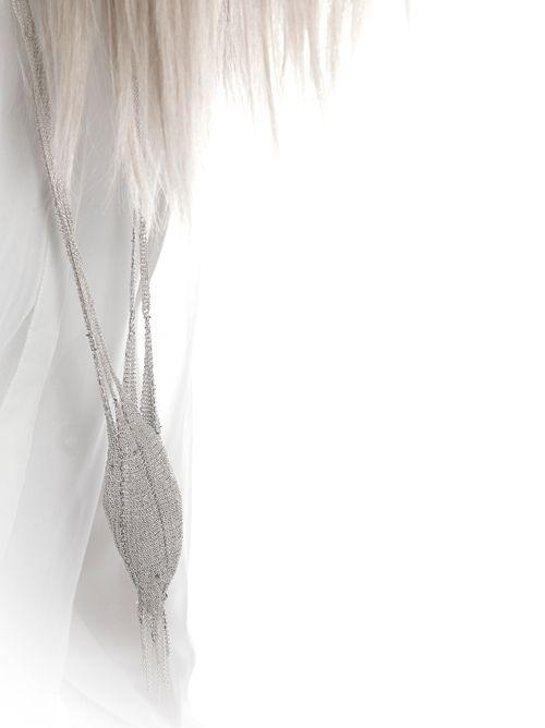 Ria Lins Necklace: Cuddle, 2012 Silver 60 cm