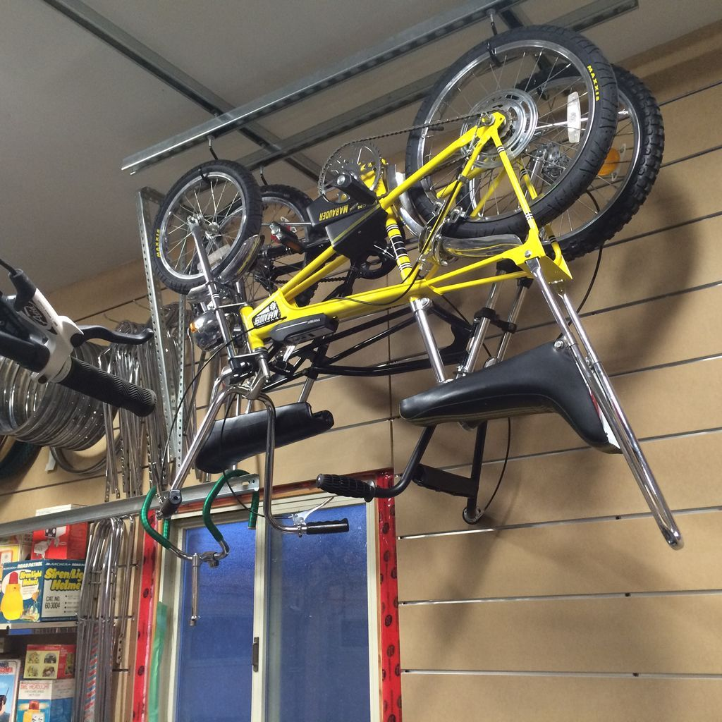 Overhead Garage Bicycle Storage System in 2020   Bicycle ...