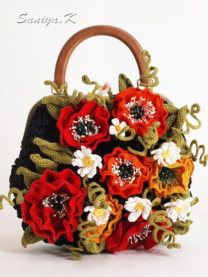 5c4b6fb9c101 Женские сумки ручной работы. Ярмарка Мастеров - ручная работа. Купить Сумка  вязаная