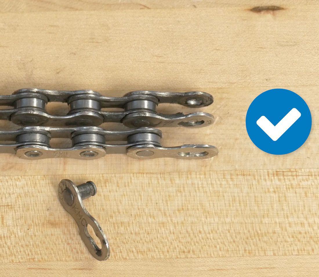 Chain Length Sizing Folding Mountain Bike Bike Chain
