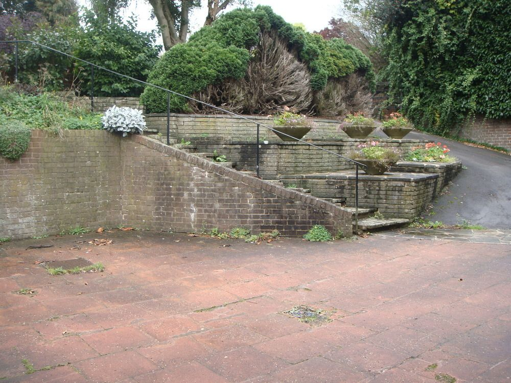 Design A Solution For A Steep Driveway And Build It Driveways Job In High Wycombe Buckinghamshire Mybuil Driveway Landscaping Landscaping A Slope Driveway