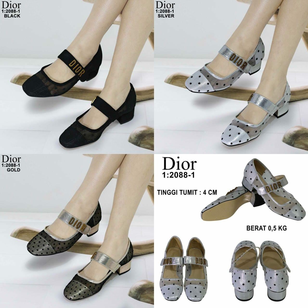 Sepatu Merk Christian Dior Seri Bb2088 1 Kualitas Semprem