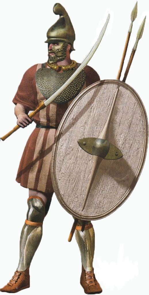 Thracian elite warrior - Russian illustrator