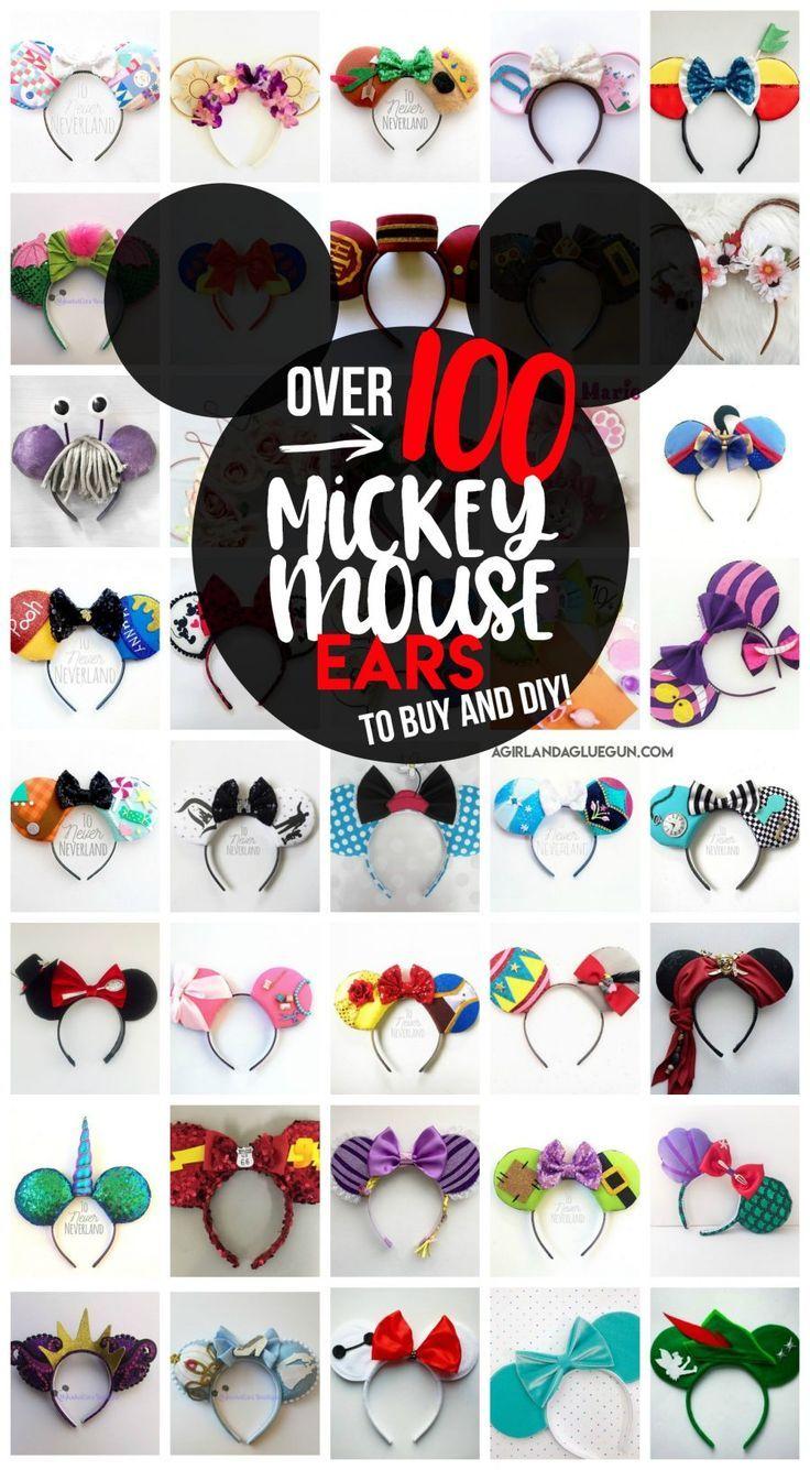 100 Mickey Mouse Ears Diseny Pinterest Oreille De Mickey