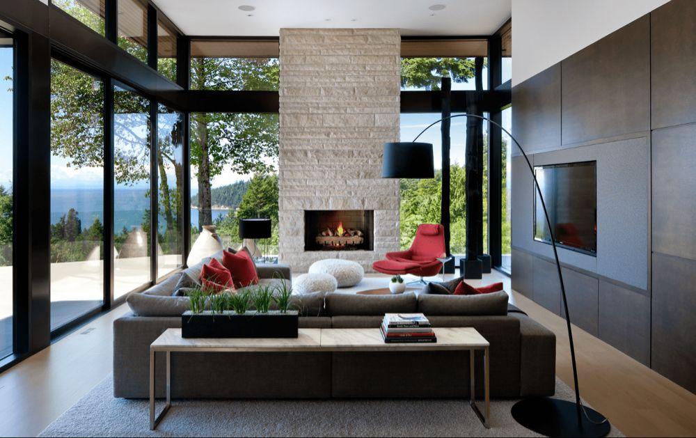 Google Image Result For Https Www Thespruce Com Thmb Ib0rgtww0hhzd House Interior Design Living Room Living Room Decor Modern Contemporary Living Room Design