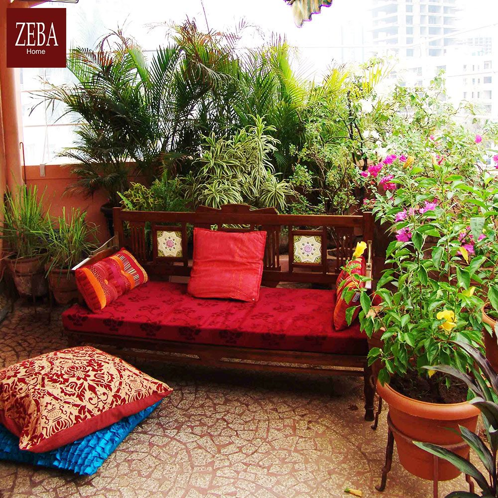 How to make a terrace garden - What About Enjoying Rains From Your Terrace Garden Make That Soothing
