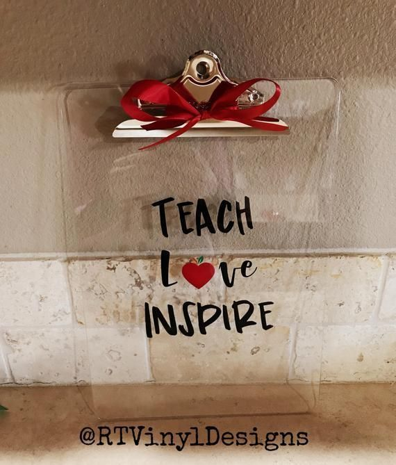 Photo of Teacher's Gift – Valentine's Day Gift for Teachers – Personalizable – Teach Love…