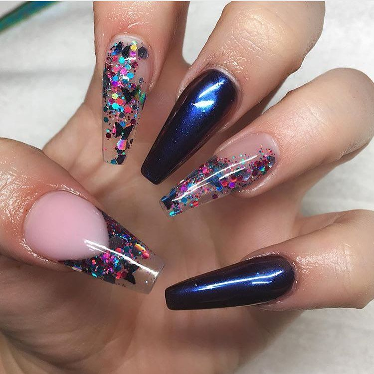 Pin by Lico Butterflykiss on Nails ✿ | Pinterest | Coffin nails ...