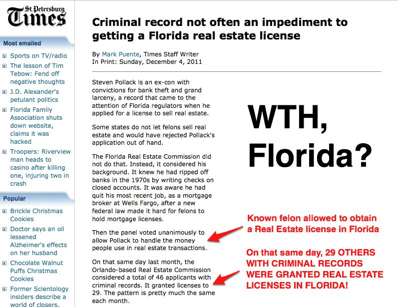 How long to get a real estate license in florida