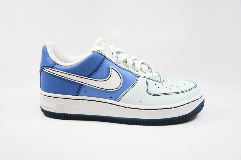 designer fashion 15530 6edc2 eBay  Sponsored Nike Air Force 1 GS Glacier Blue White lot 314219 411 Grade  School Size 4.5
