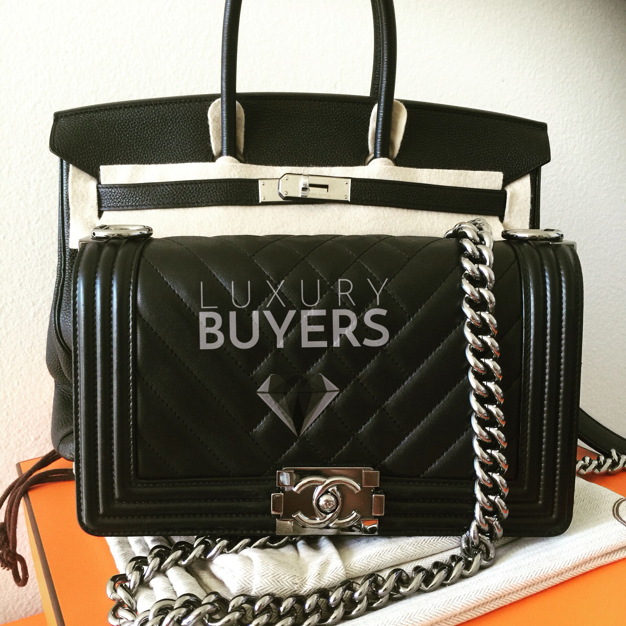 Get Top Dollar For Chanel bags and Hermes Birkin Bags. www.LuxuryBuyers.com dbebdc89eb
