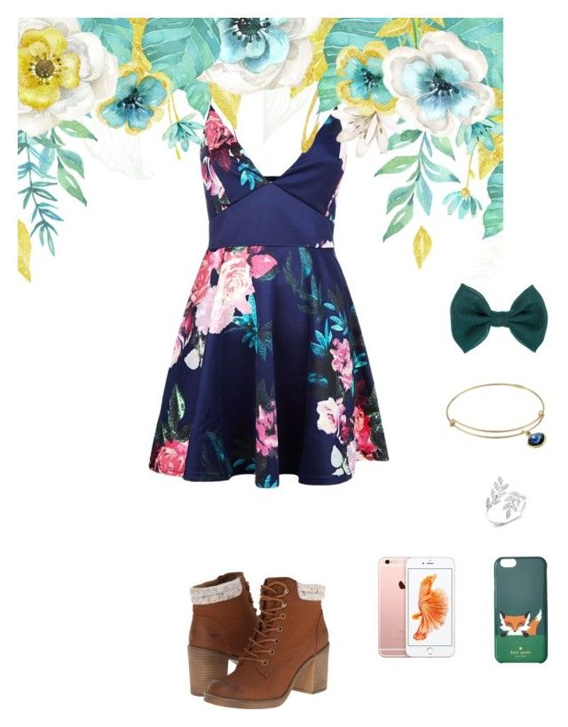 """""""Introducing: Princess Tia"""" by the-royal-girls ❤ liked on Polyvore featuring AX Paris, Rocket Dog, Accessorize, Alex and Ani, Kate Spade and who"""