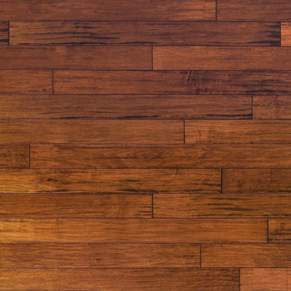 Millstead Handscrape Maple Spice 3 8 In Thick X 4 75 In Wide X Random Length Engineered Click Hardwood Flooring 33 Sq Ft Case Hardwood Floors Hardwood Maple Hardwood Floors
