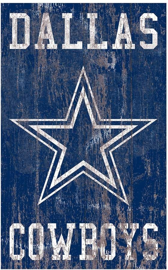Dallas Cowboys Logo Sign Wall Art Dallas cowboys