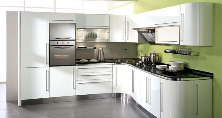 #kitchen #curved #cupboards Modern Italian Curved Kitchen ...