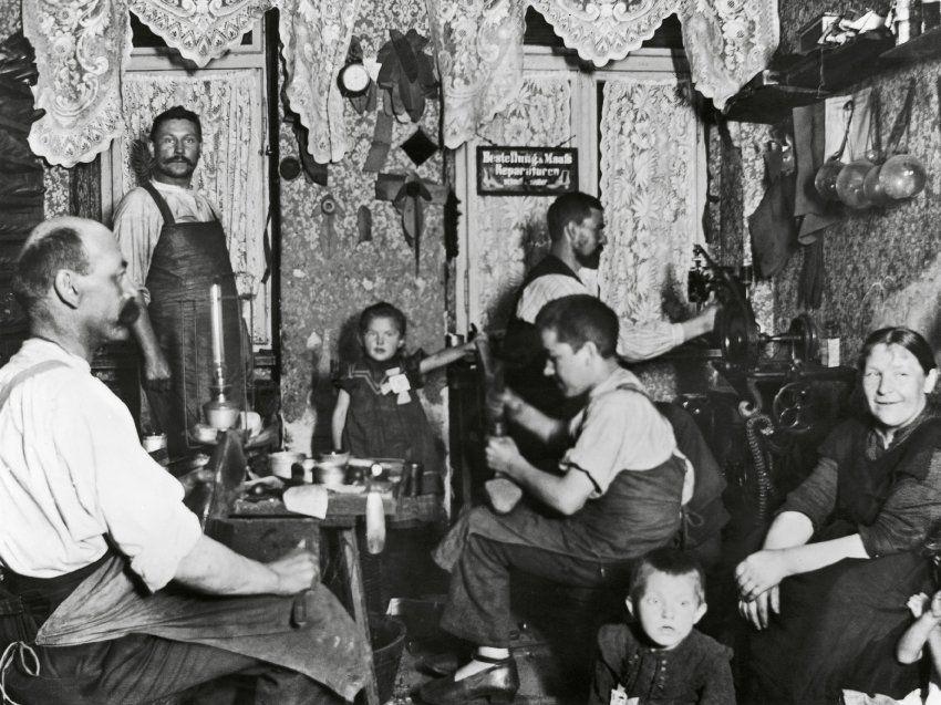 Leben Um 1900
