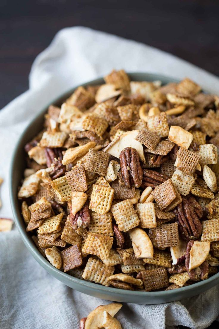 Apple Cinnamon Chex Mix Recipe Cinnamon chex mix