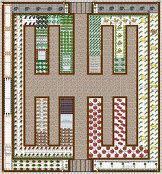 Garden Plan   2016: Vegetable Garden