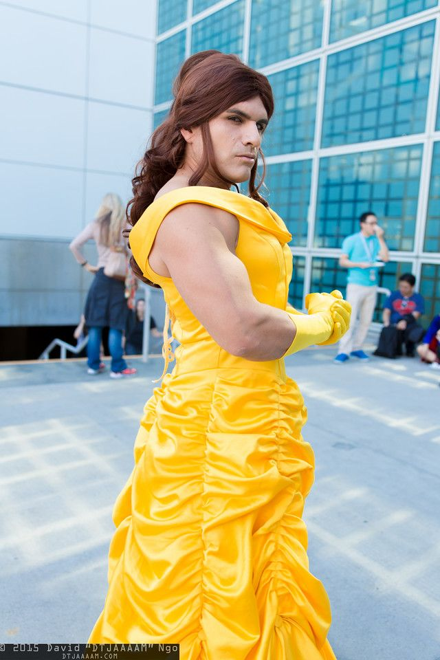 Belle is a beast! #Comikaze 2015