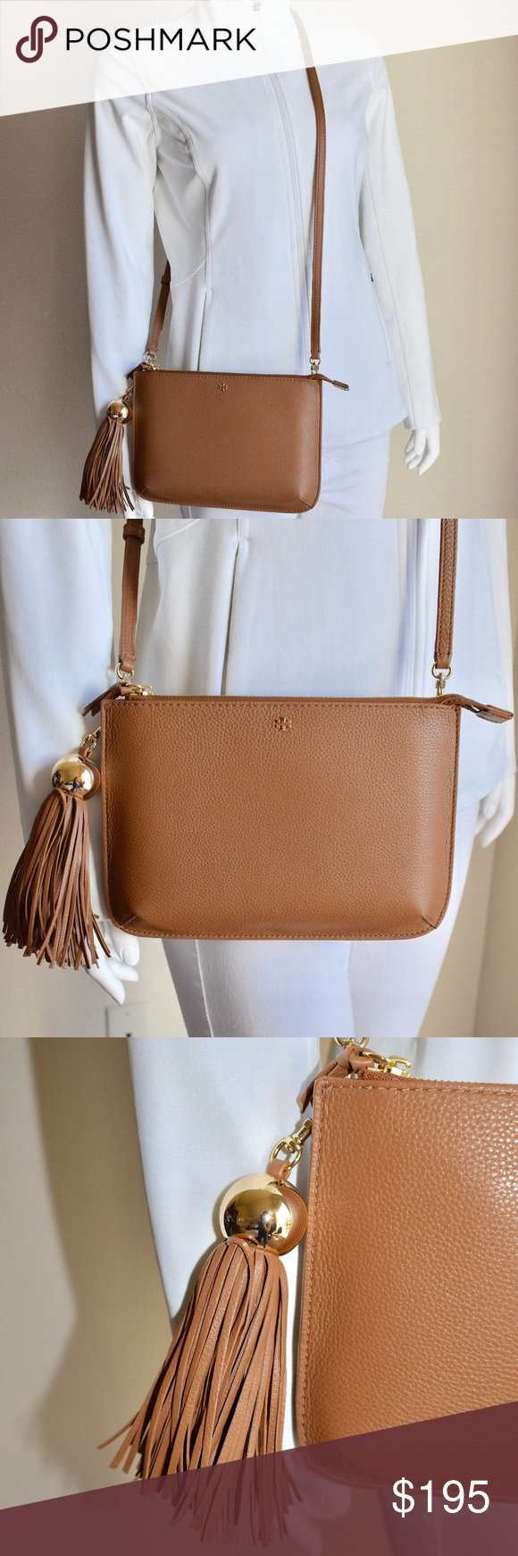 TORY BURCH TASSEL CROSSBODY BAG 💎Brand New with Tag and Authentic👍 💎Same  day 4cb84447b3
