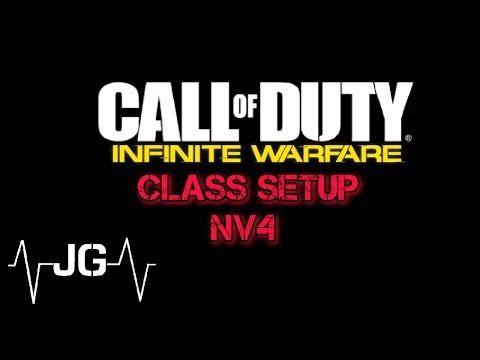 Call Of Duty Infinite Warfare - NV4 Class Setup - YouTube
