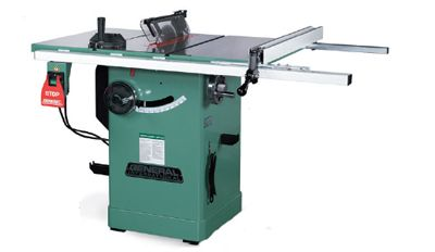 General International 50 200r M1table Saw With Anti Kickback And Splitter Best Table Saw Table Saw Woodworking Supplies
