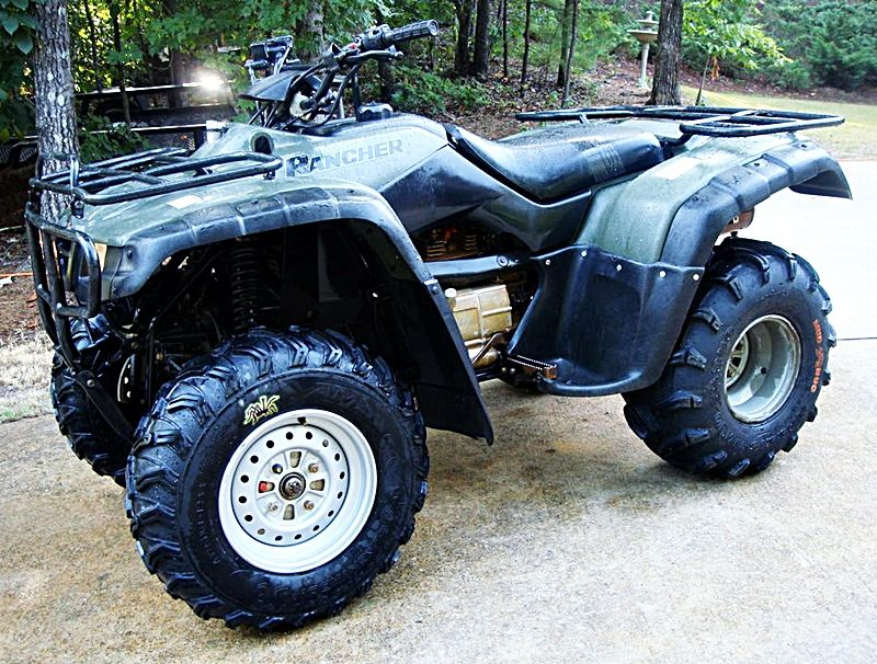 Honda TRX350 Rancher   Motorcycles I Own / Have Owned