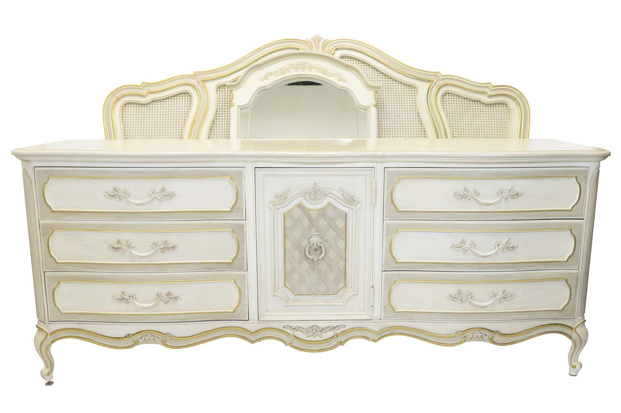 Thomasville French Provincial Bedroom Set Beauty And The Beast Style Bedroom  Set