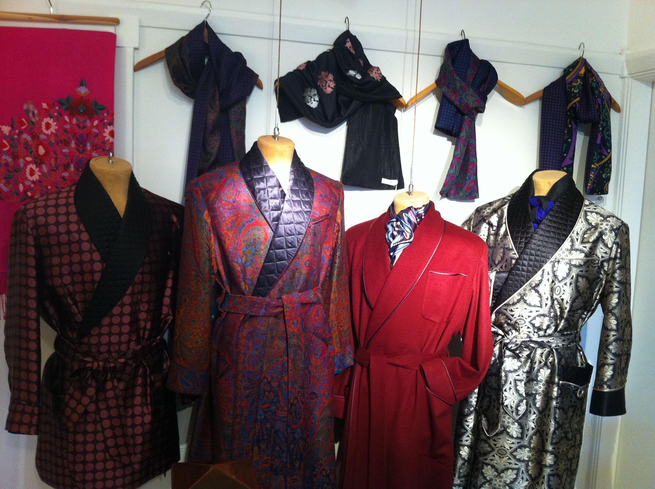 Beautiful Daniel Hanson Dressing Gown Pattern - Best Evening Gown ...