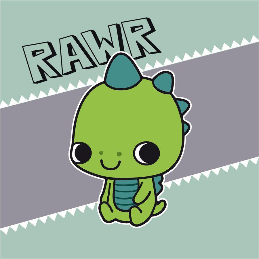 Dinosaur RAWR by Cute-Creations.deviantart.com on ...