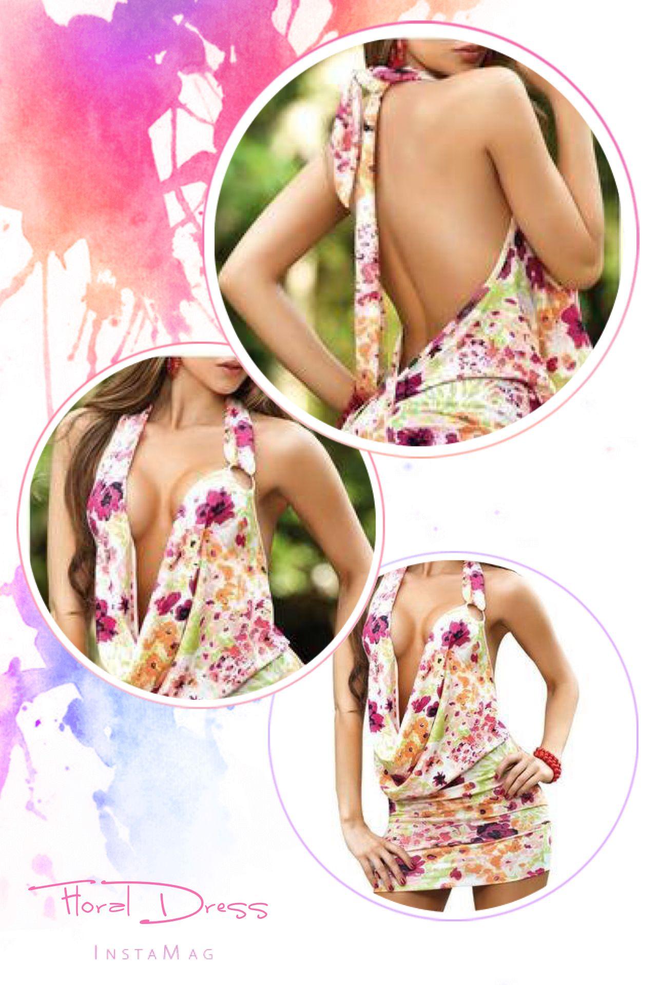 Www.hotredfashion.com #pink #floral #littledress