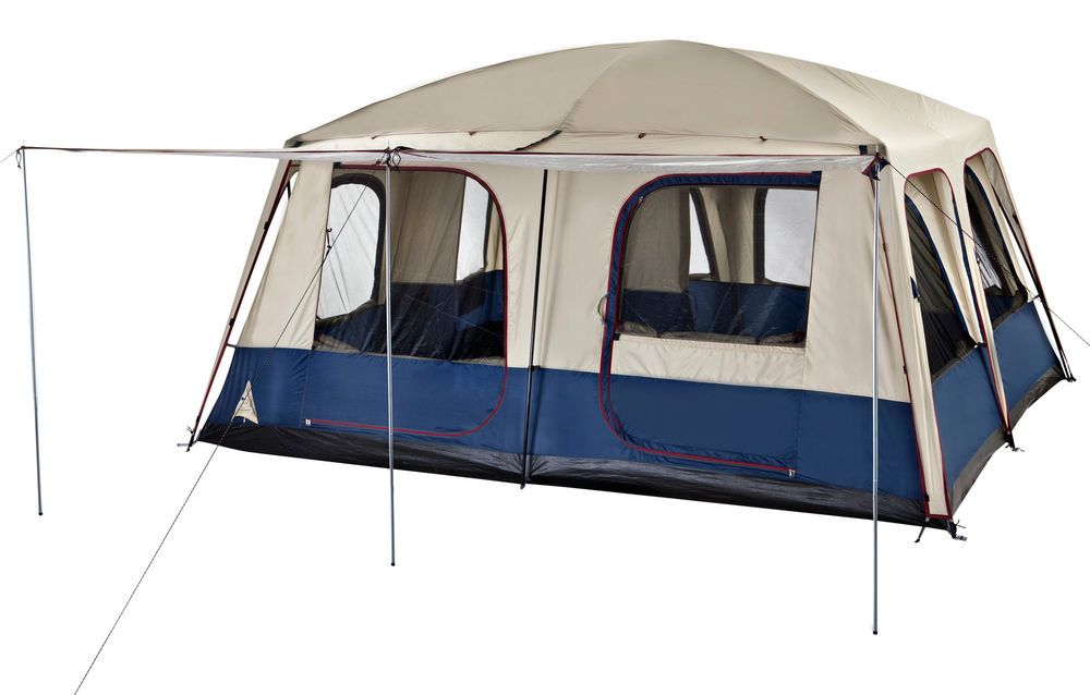 OZtrail Lodge Combo 12 Person 2 Room Dome Tent Cabin with