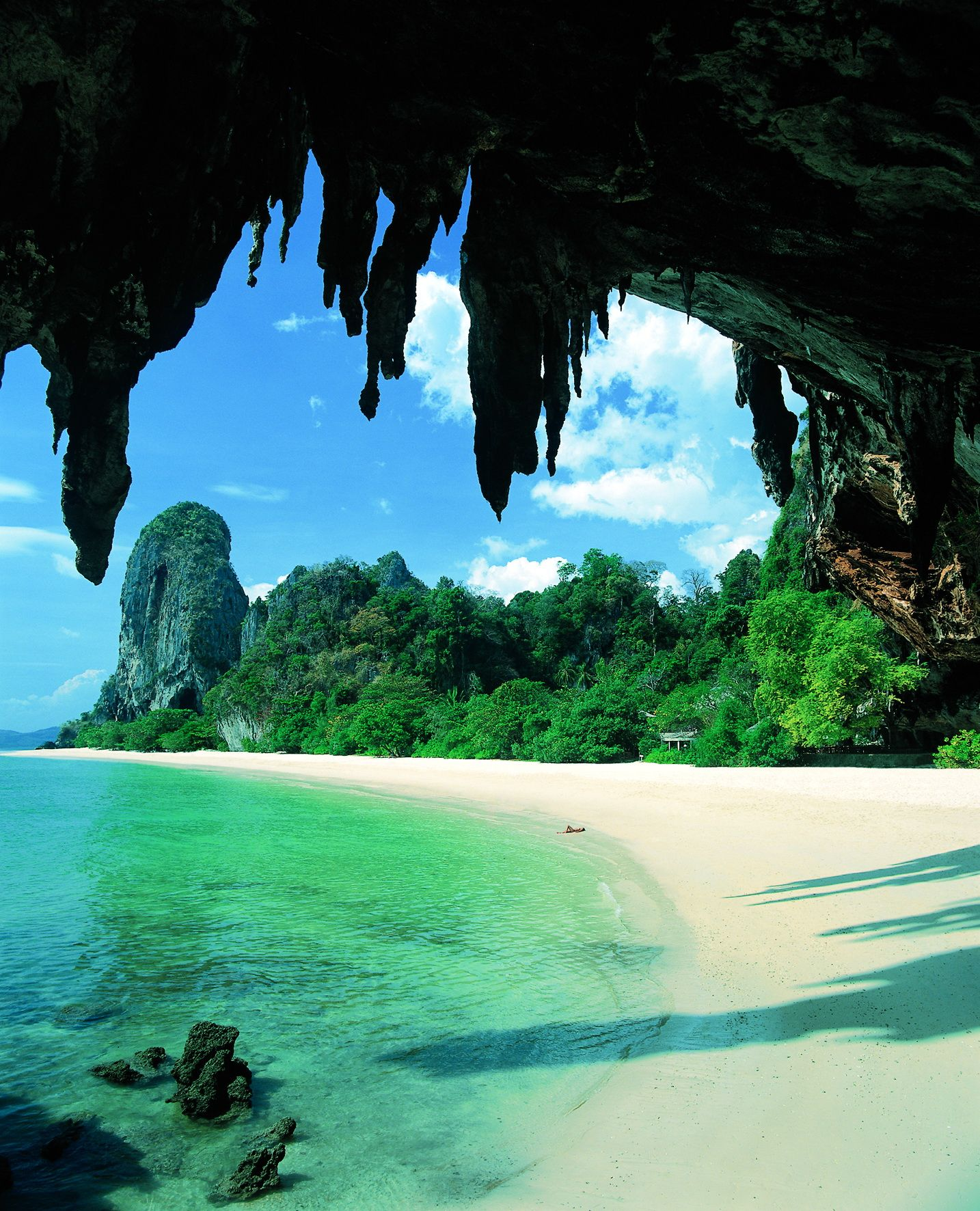 Phi Phi Beach: Laem Tong Beach #travel #stunning