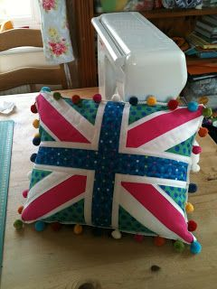 Union Jack Block tutorial from Dandelion Daydreams. This tutorial has lots of photos to make a cushion but can also be adapted down to make quilt blocks or mug rugs.