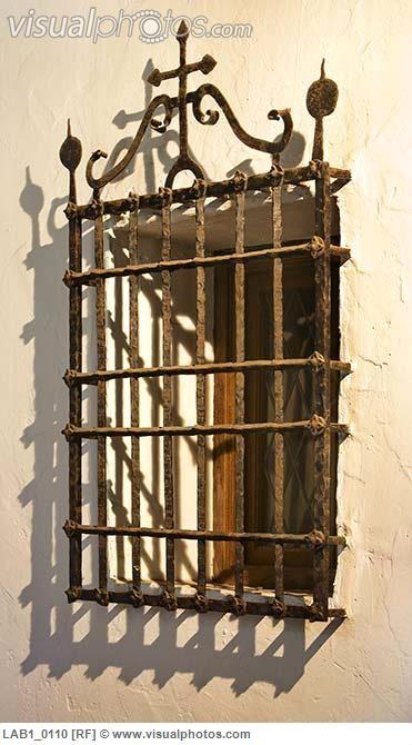 Spanish Wrought Iron Window Grills 8