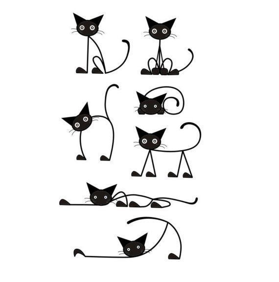 Cat Stickers Set Vinyl Wall Decal 7 Crazy ... - Cat Decal Set Vinyl Wall Decal 7 Crazy …, # Pegatinas #Crazy # Gato #Set # Vinilo  Estás en el lu - #allergictocats #Cat #catwallpaper #catsandkittens #Crazy #crazycats #Decal #Set #Stickers #Vinyl #Wall