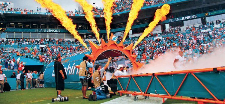 Activate partnered with the Miami Dolphins to create this