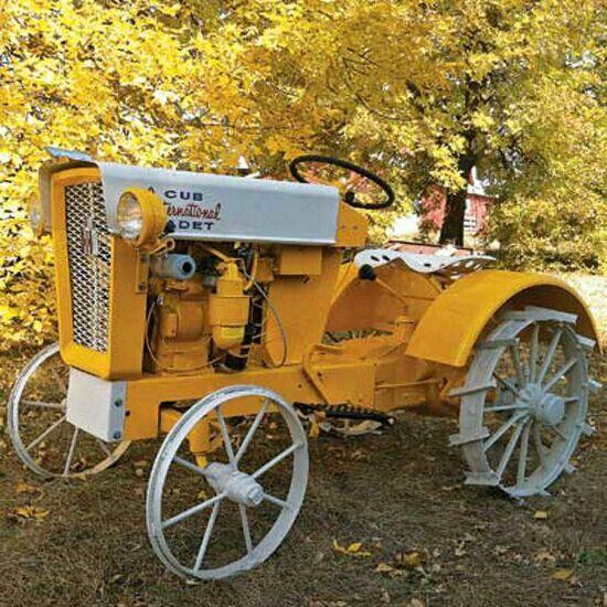 Iron Tractor Wheels : Cub cadet iron wheels garden yard pinterest