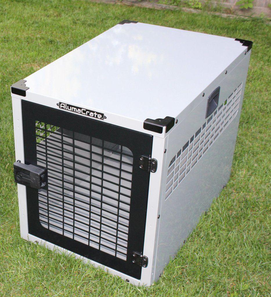 Dog Crate Aluminum XLarge, Full Back dogs Aluminum