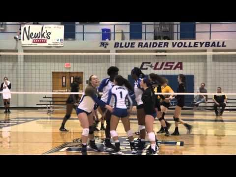 The Official Website Of Mt Athletics Women Volleyball Middle Tennessee State University Tennessee State University