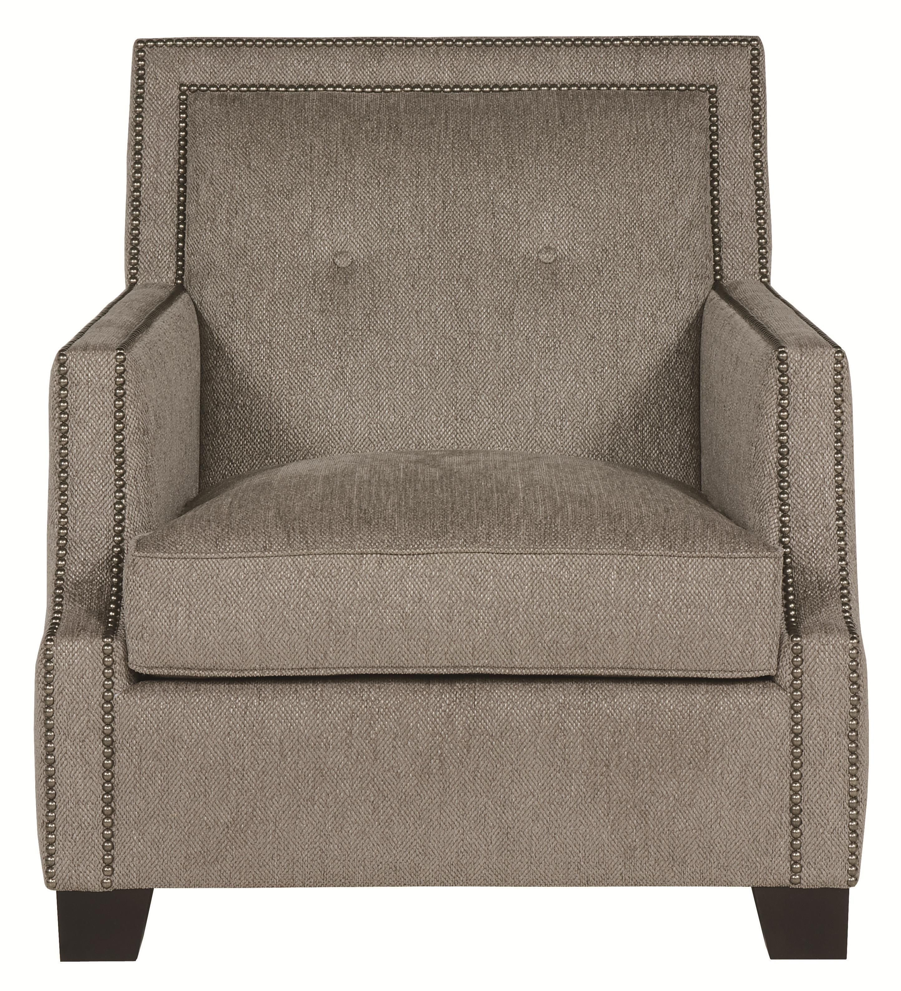 Interiors Franco Well Crafted Accent Chair With High End