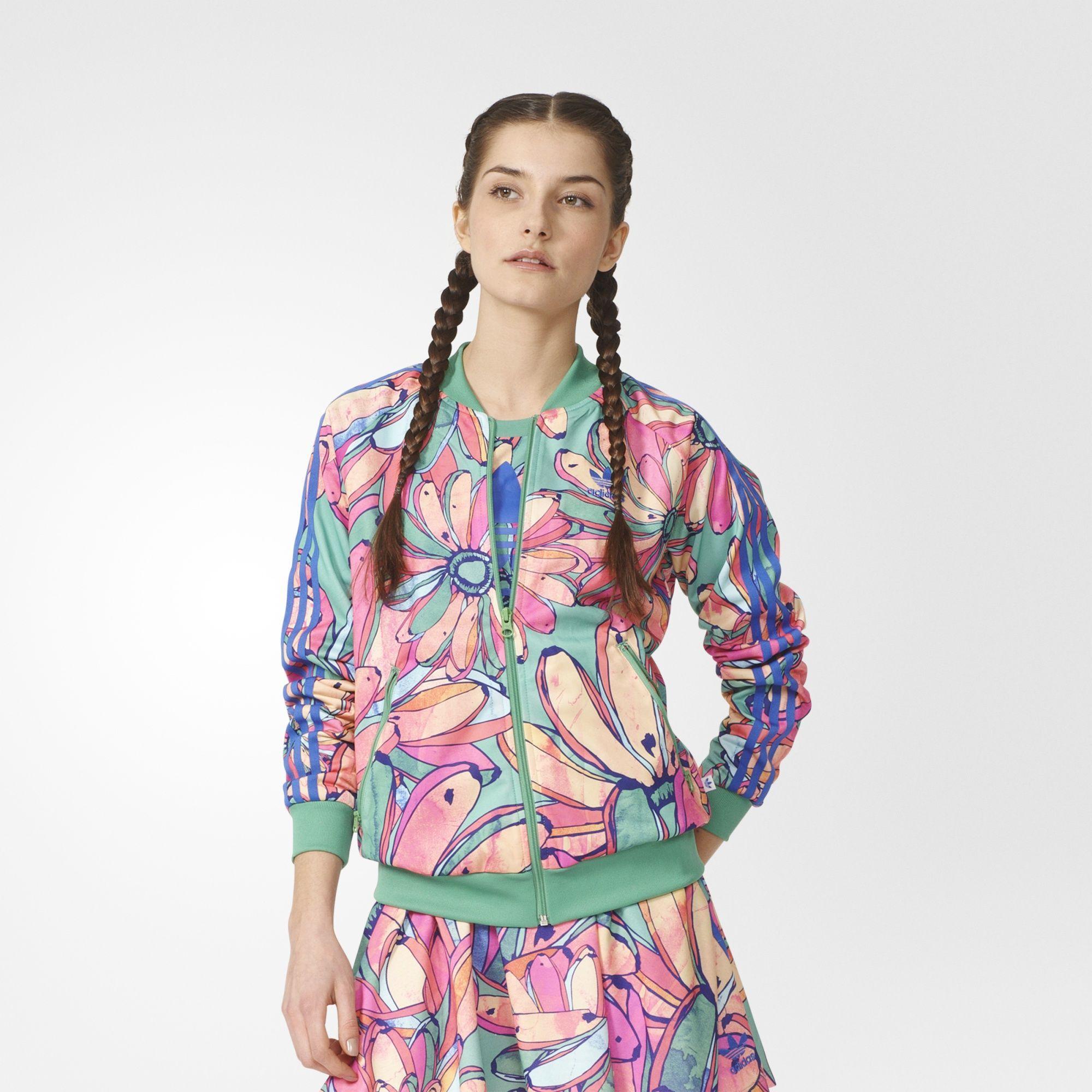 Bananas Bomber Supergirl Adidas Jacket Chaqueta Pinterest YqFnPzx