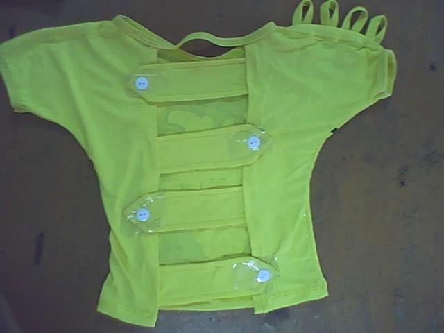 Blusa infantil de prueba dise o con manga enteriza tiras for Diseno piezas infantiles